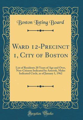 Ward 12-Precinct 1, ...