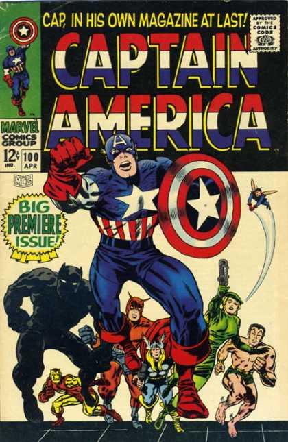 Captain America Vol.1 #100