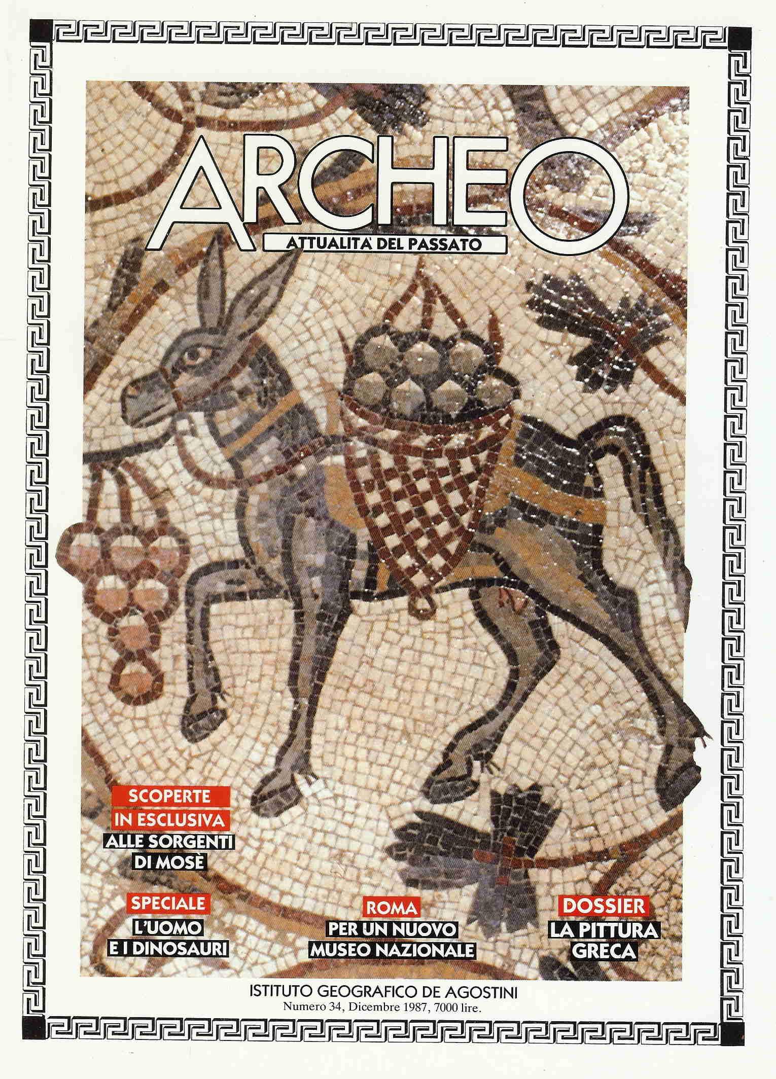 Archeo, attualità del passato n.34