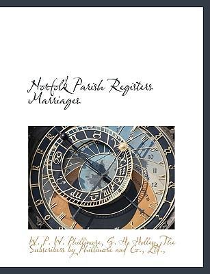 Norfolk Parish Registers Marriages