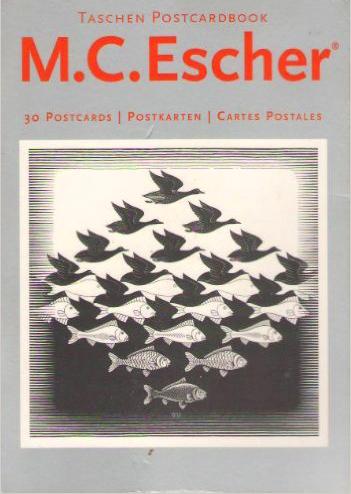 PostcardBook, Bd.71, M. C. Escher