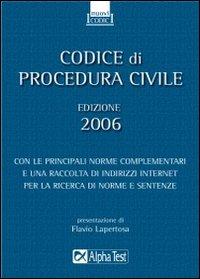 Codice di procedura civile 2006