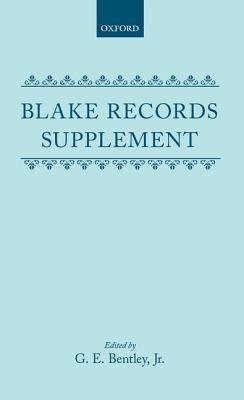 Blake Records Supplement