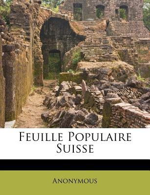 Feuille Populaire Suisse