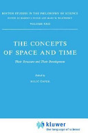The Concepts of Space and Time