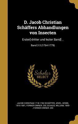 GER-D JACOB CHRISTIAN SCHAFFER