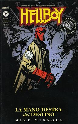 Hellboy. La mano destra del destino