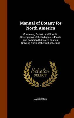 Manual of Botany for...