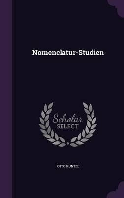 Nomenclatur-Studien