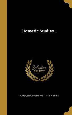 HOMERIC STUDIES