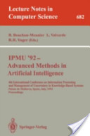IPMU '92, advanced m...