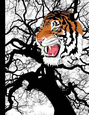 Wild Tiger Graph Pap...