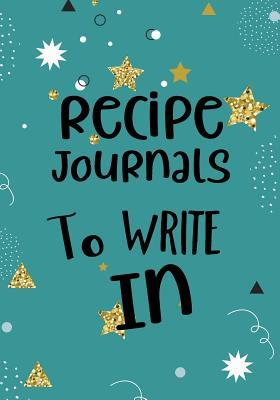 Recipe Journals to Write in
