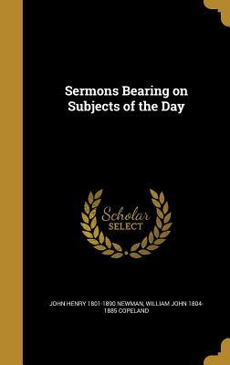 SERMONS BEARING ON SUBJECTS OF