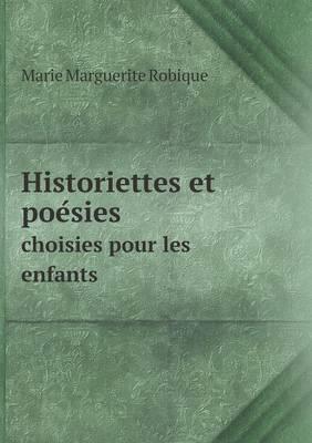 Historiettes Et Poe Sies Choisies Pour Les Enfants