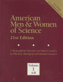 American Men and Women of Science: Index