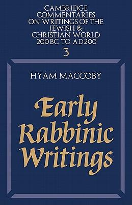 Early Rabbinic Writi...