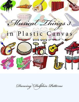 Musical Things in Plastic Canvas
