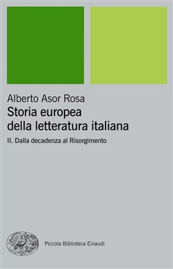Storia europea della letteratura italiana vol. 2