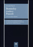 Bonnefoy traduce Pascoli