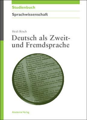 Deutsch Als Zweit- Und Fremdsprache