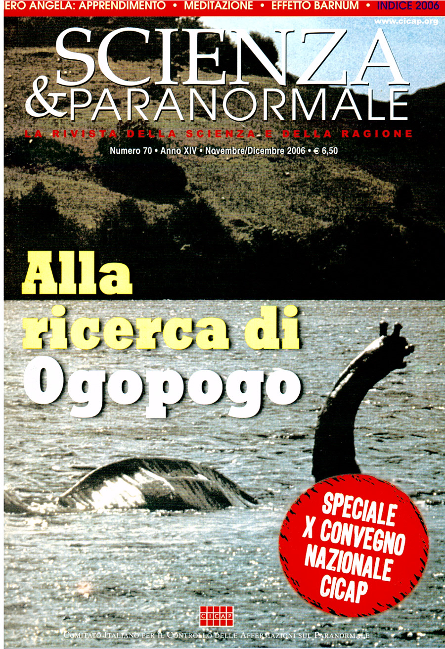 Scienza & Paranormale No. 70