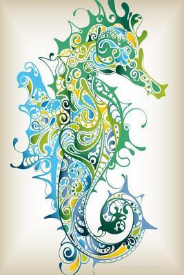 Seahorse Blank Book