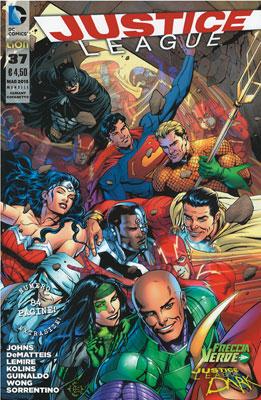 Justice League n. 37 - Variant