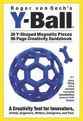Y-Ball [With 30 Y-Shaped Magnetic Pieces and Creativity Guidebook]
