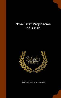 The Later Prophecies...