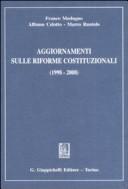Aggiornamenti sulle riforme costituzionali (1998-2008)