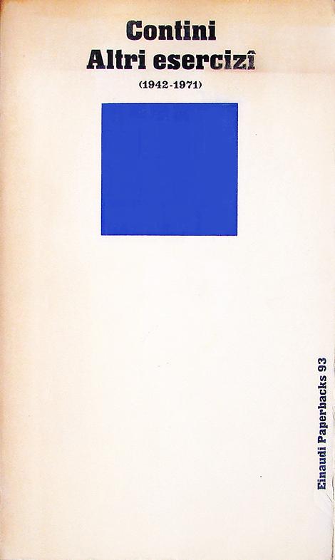 Altri esercizi (1942-1971)