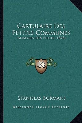 Cartulaire Des Petit...