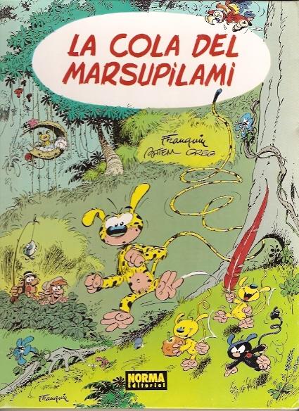 La cola del Marsupil...