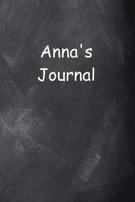 Anna Personalized Name Journal