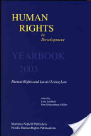 Human Rights in Development Yearbook 2003