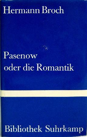 Pasenow oder Die Rom...