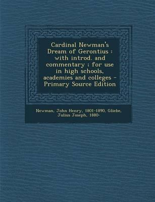 Cardinal Newman's Dream of Gerontius
