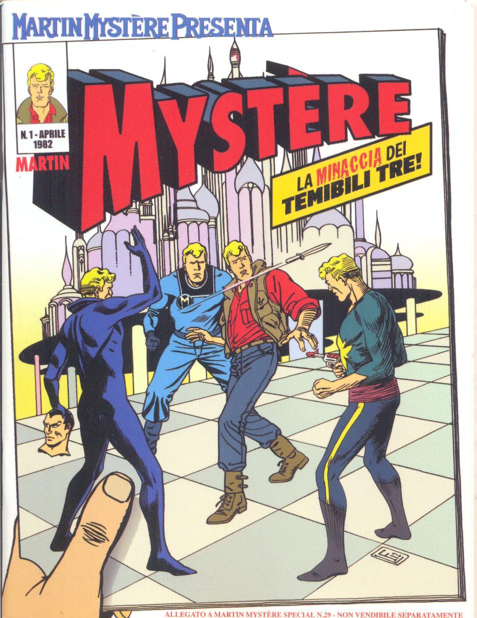 Martin Mystère presenta: Mystère - La minaccia dei temibili tre!