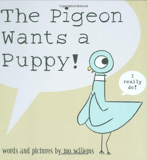 The pigeon wants a p...