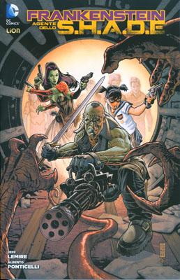 Frankenstein agente dello S.H.A.D.E. vol. 1: La guerra dei mostri