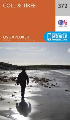 OS Explorer Map (372) Coll and Tiree