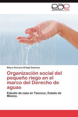 Organización social del pequeño riego en el marco del Derecho de aguas