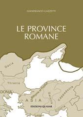 Le province romane - Vol. 1