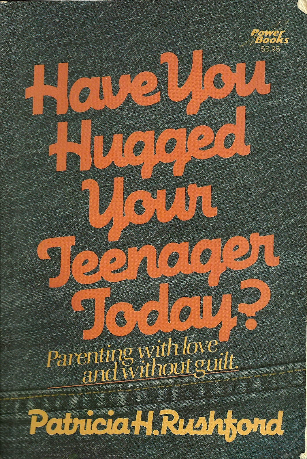 Have You Hugged Your Teenager Today?