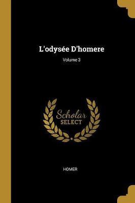 L'Odysée d'Homere; Volume 3