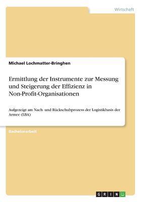 Ermittlung der Instrumente zur Messung und Steigerung der Effizienz in Non-Profit-Organisationen