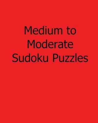 Medium to Moderate Sudoku Puzzles