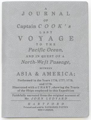 Captain Cook's Last Voyage Lined Notebook