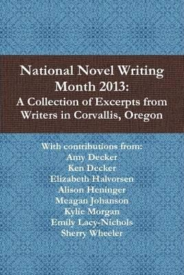 National Novel Writing Month 2013